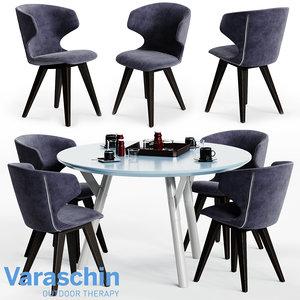 varaschin kloe chair link 3D