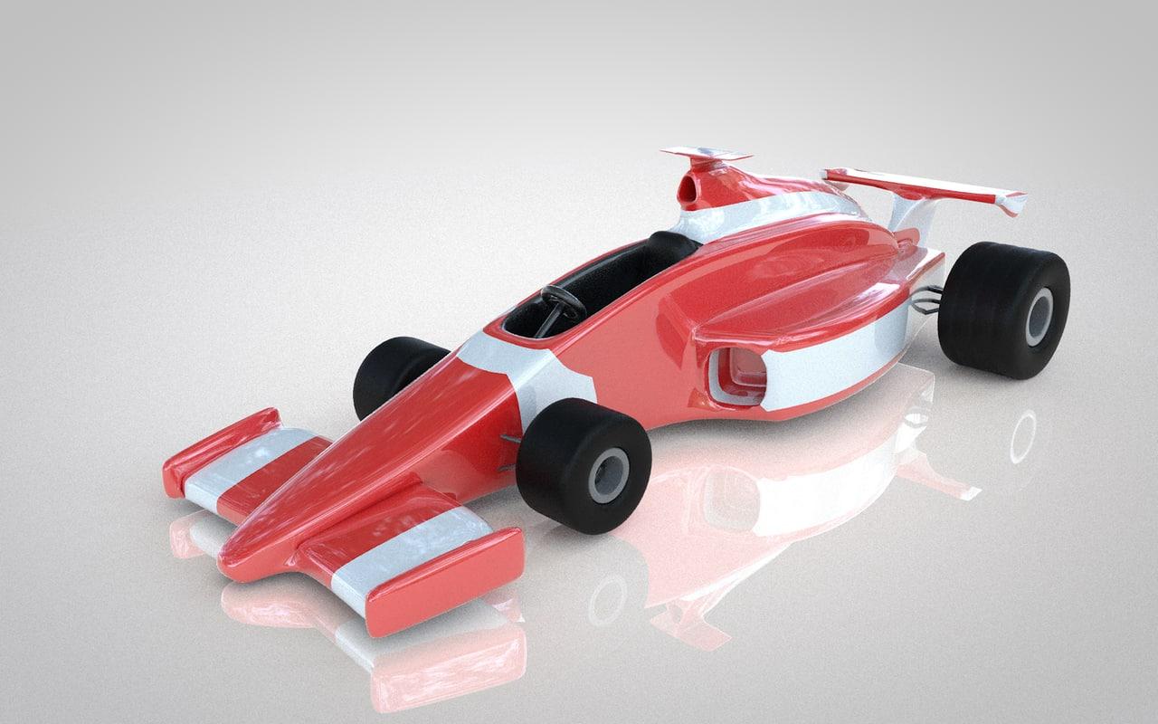 formila 3D model