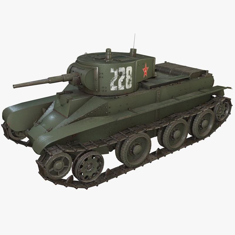 tank bt 3D