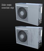 unit air conditioner 3D model