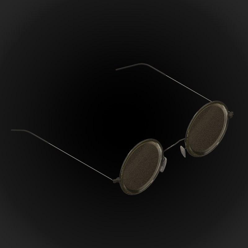 3D model 70 s glasses john