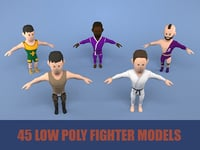 fighters pack 3D model