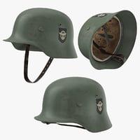 war ii german helmet model