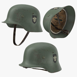 war ii german helmet model