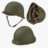 Ranger Helmet 3 Poses