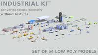3D model set industrial