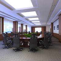 3D conference room