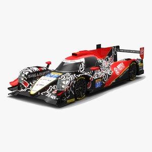 jackie chan dc racing 3D model