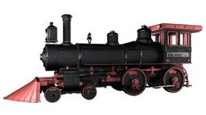 locomotive virginia 3D