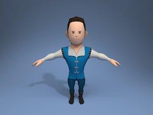 nobleman character ar model