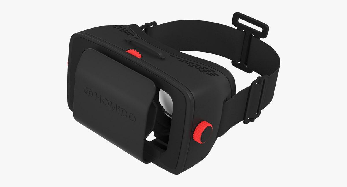homido homido1 virtual reality 3D
