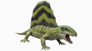 3D dimetrodon grandis