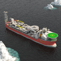 FPSO Balder Offshore Oil Rig