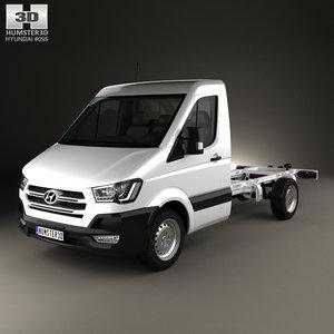 3D hyundai h350 350 model