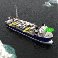 FPSO Alvheim Offshore Oil Rig