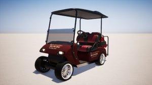 3D electric golf model
