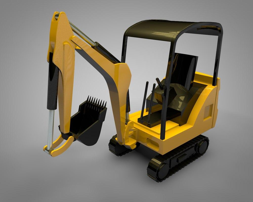 3D digger