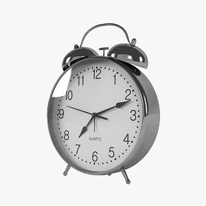 3D morning alarm clock
