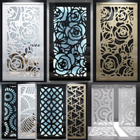 Decorative screens 06