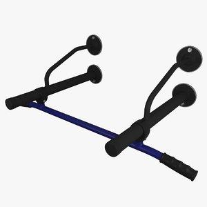 horizontal bar 3D