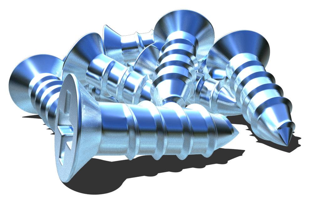 screws 3D model