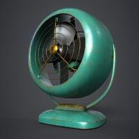 3D vornado vintage fan