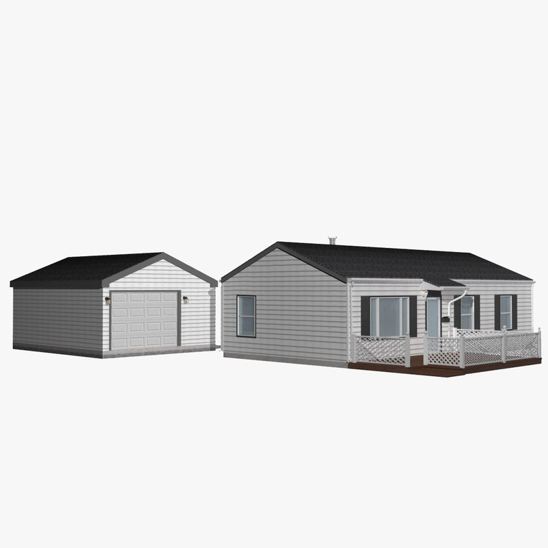 house home garage 3D