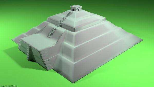 pyramid sun model
