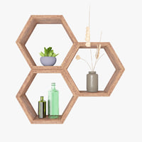 Shelf - honeycombs