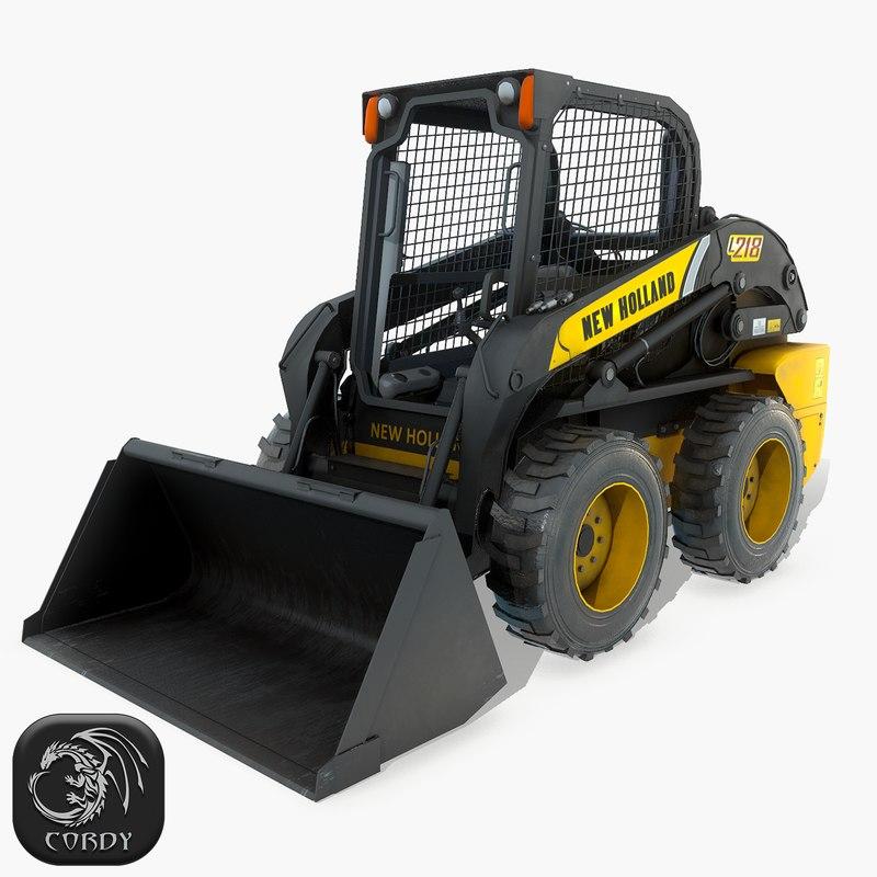 3D skid steer loader new