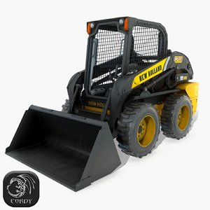 3D skid steer loader new