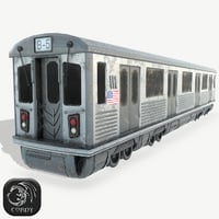 3D new york subway ready model