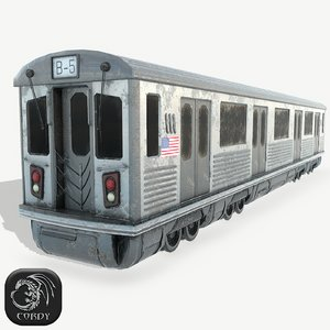 3D new york subway ready model