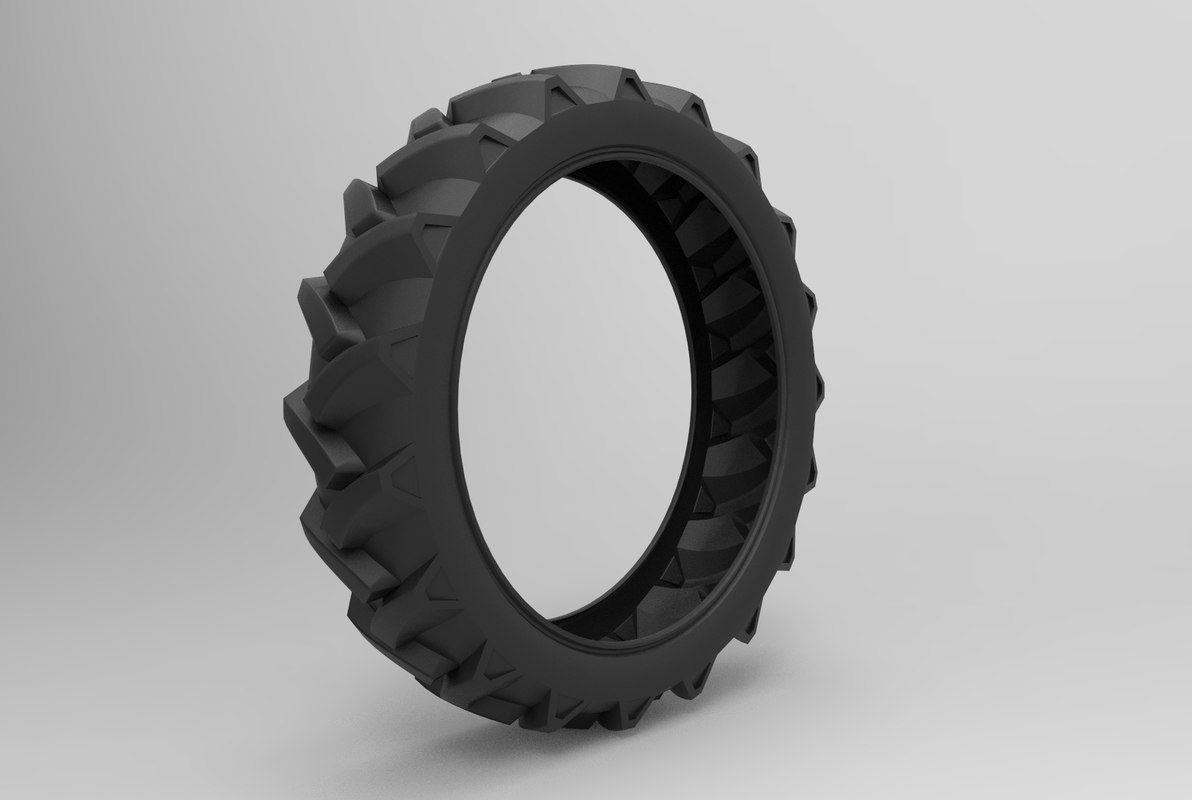 tire tractor 3D