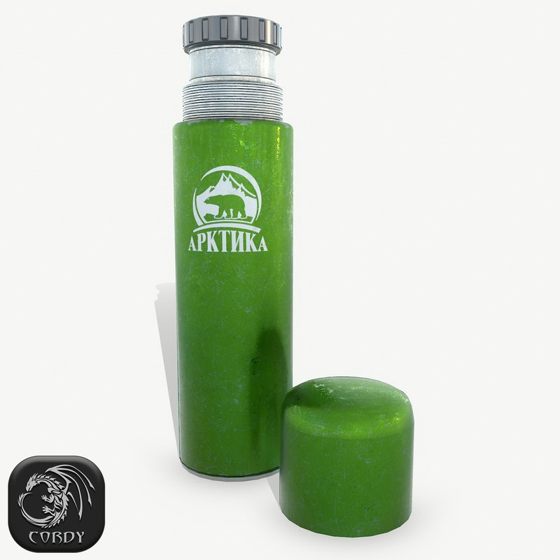 3D ready thermos