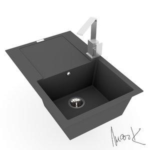 sink tap 3D model