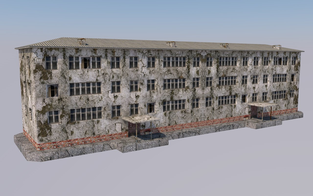 3D 3-storey house