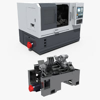 CNC machine tool 01
