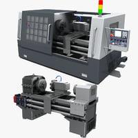 cnc machine tool 02 3D model