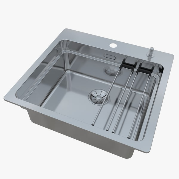 3D model sink blanco etagon 500-ifa