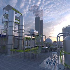 factory 3D model