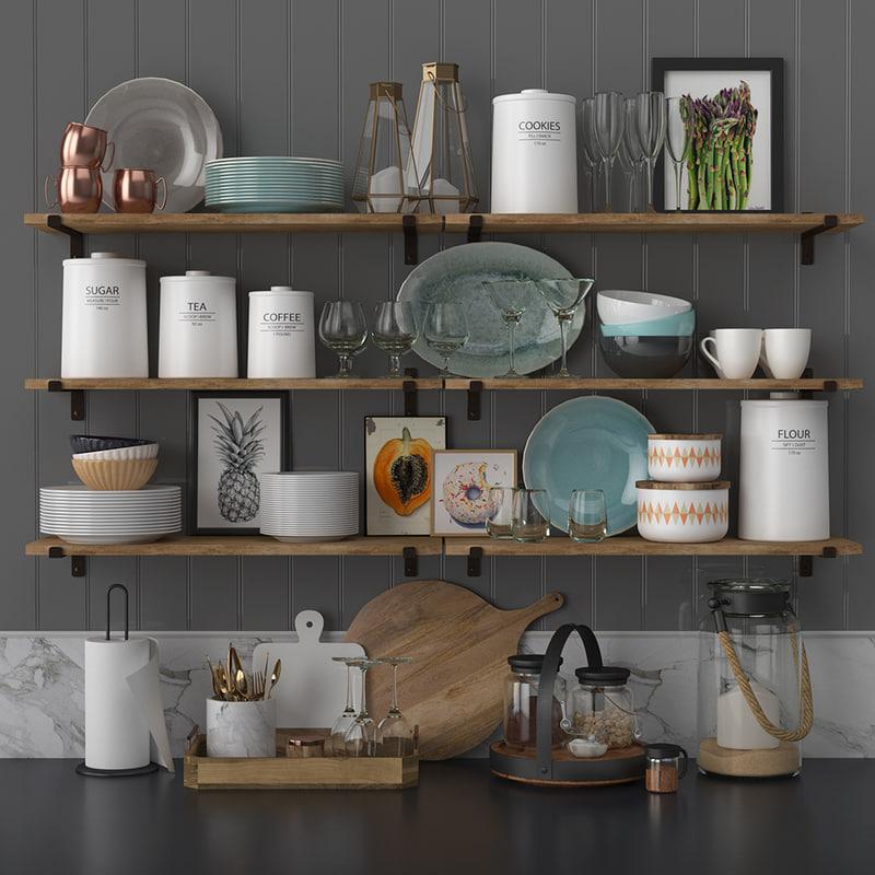 kitchen decor set model