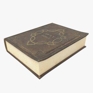 bible holy 3D model