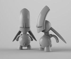 toy desk 3D model