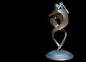 sculpture eternity 3D