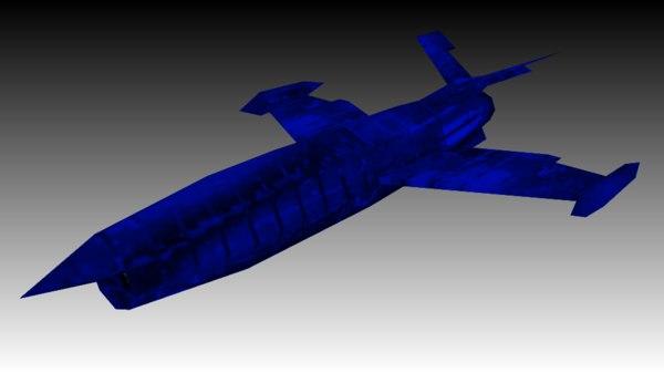 blue drone 3D