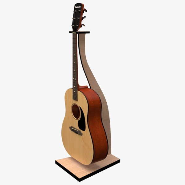 guitar stand 3D model