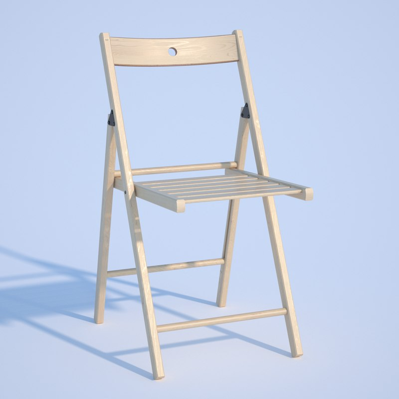 chair ikea terje 3D model