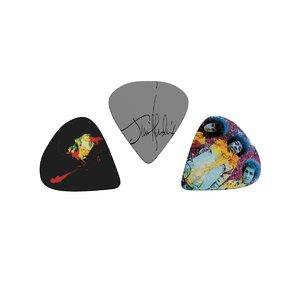 3D guitar picks