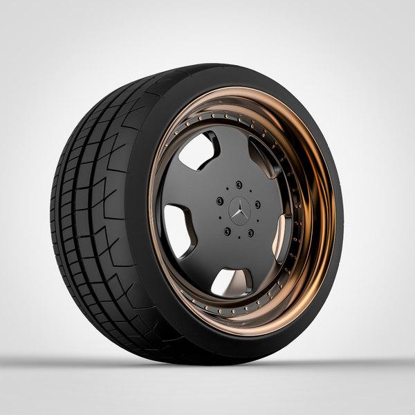 wide custom wheel model